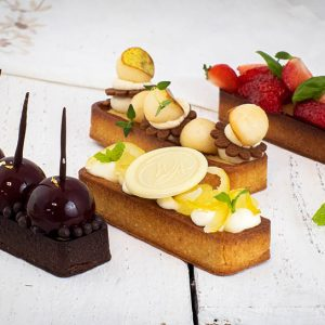 Warsaw Academy of Pastry Arts - Owoce na tartach - Desery