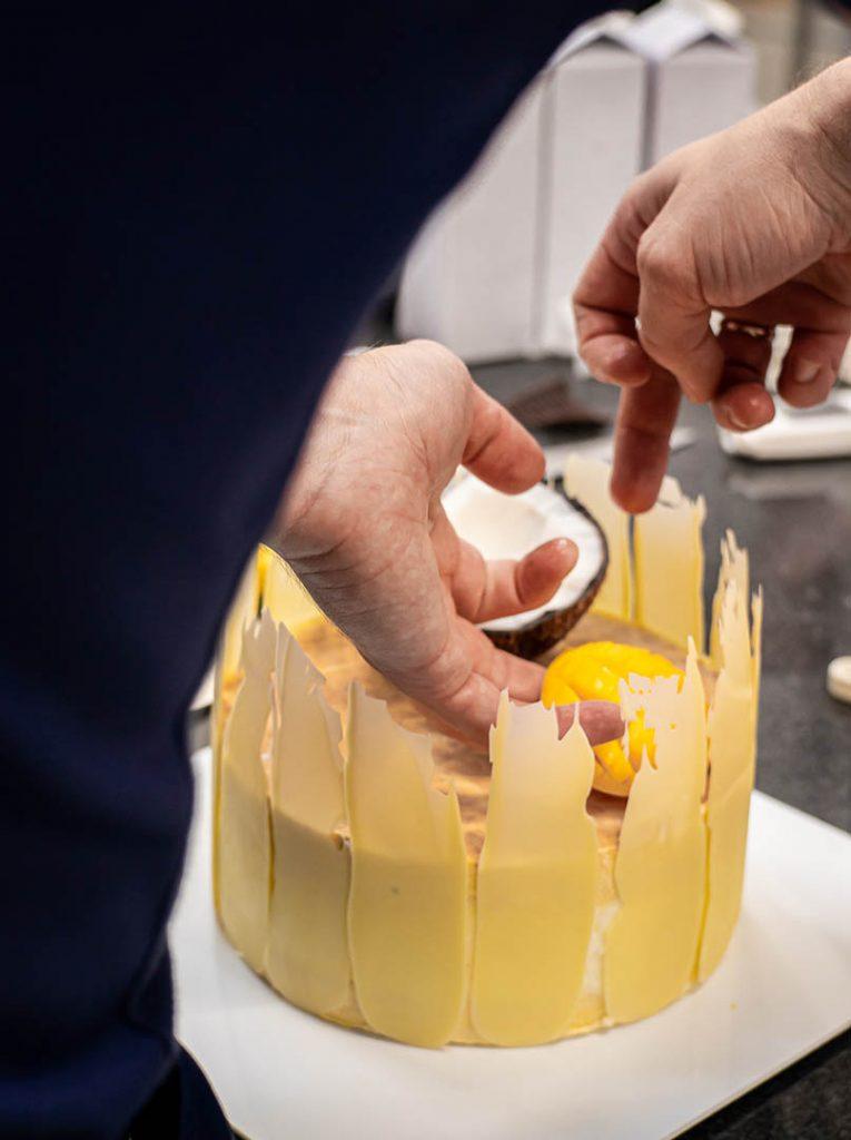 Warsaw Academy of Pastry Arts Szkolenia Cukiernicze Akademia Cukiernictwo Tort Lodowy